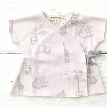 Tshirt- ASCOT ROSA-Mesage In The Bottle