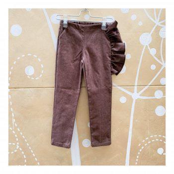 Pantalone-W28 NOCCIOLA-Giro Quadro