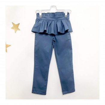 Pantalone-K48 BLU-Giro Quadro