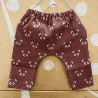Pantalone-TOM PANDA ROSA-Bisous Xxx