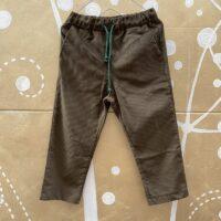 Pantalone-G50 OLIVA-Giro Quadro